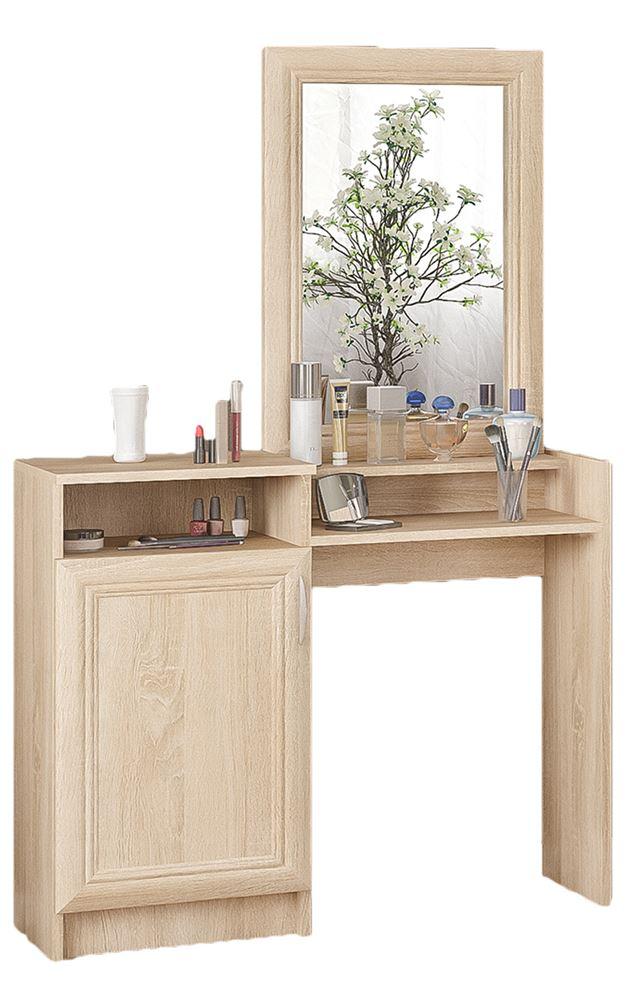 Kosmetinis staliukas Sonata su veidrodžiu | Būsto Pasaulis