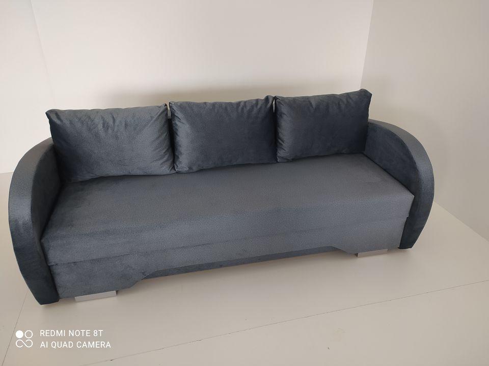 Sofa-lova, melanžinis audinys | Būsto Pasaulis