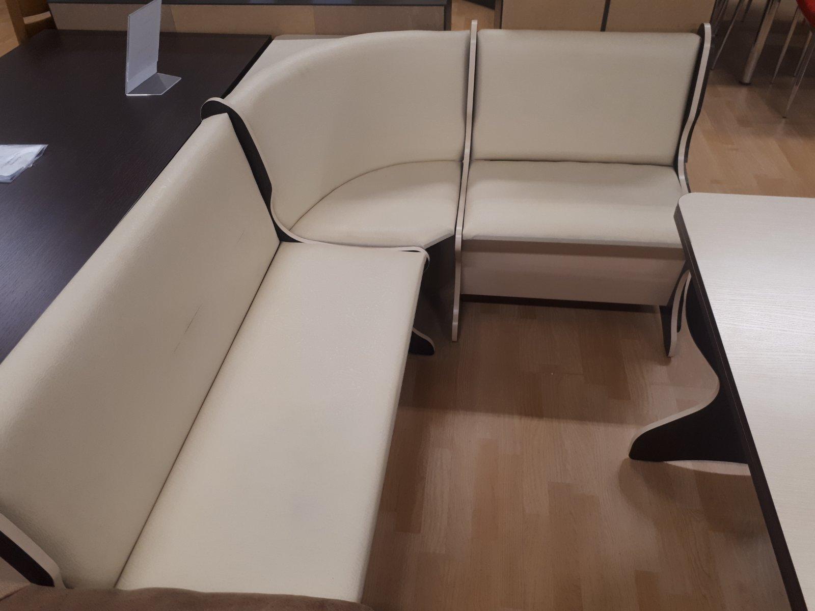 Virtuvės kampas 128x168cm, baltas | Būsto Pasaulis