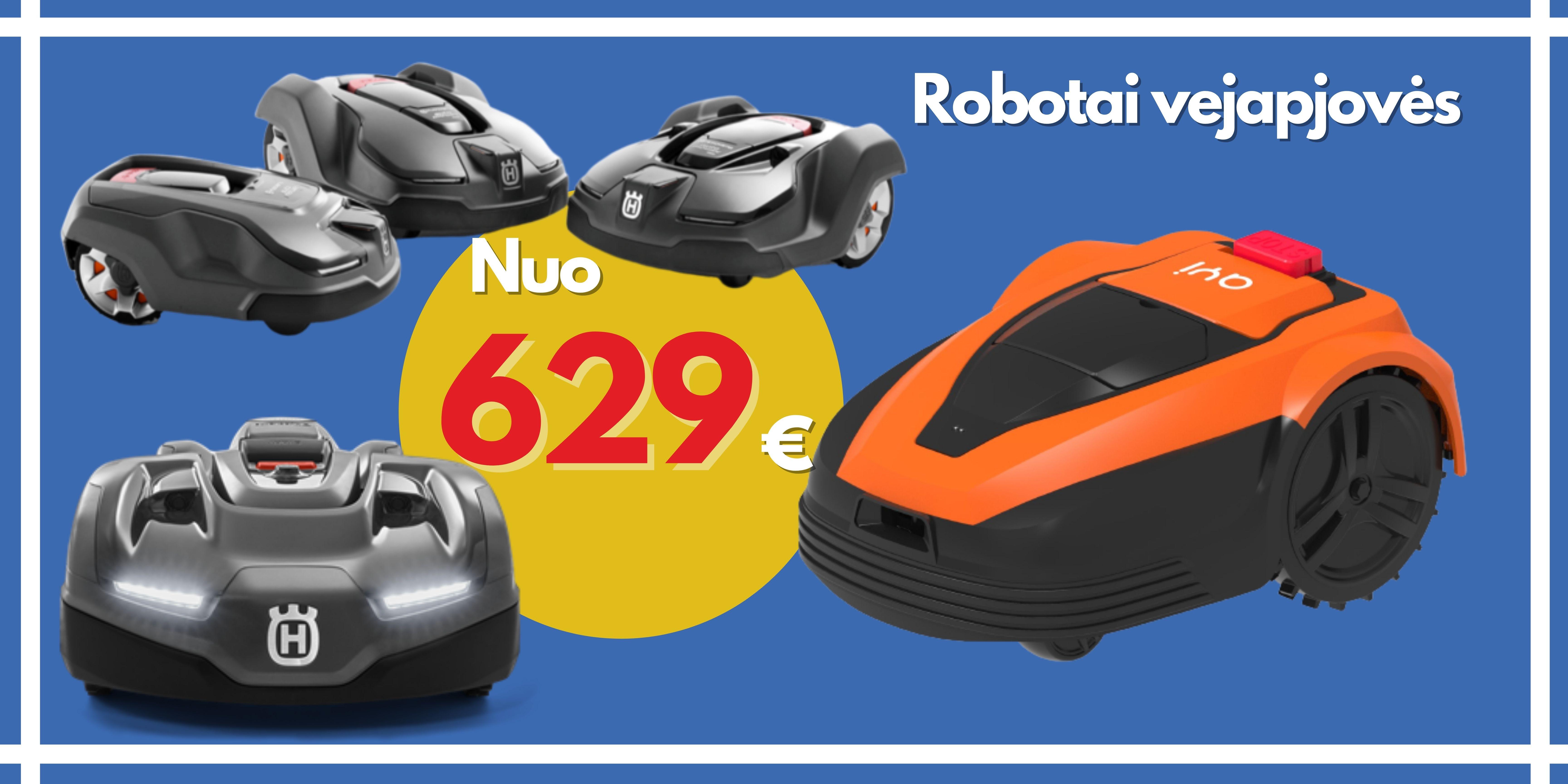 Robotai Vejapjovės Geriausia kaina Būsto Pasaulis