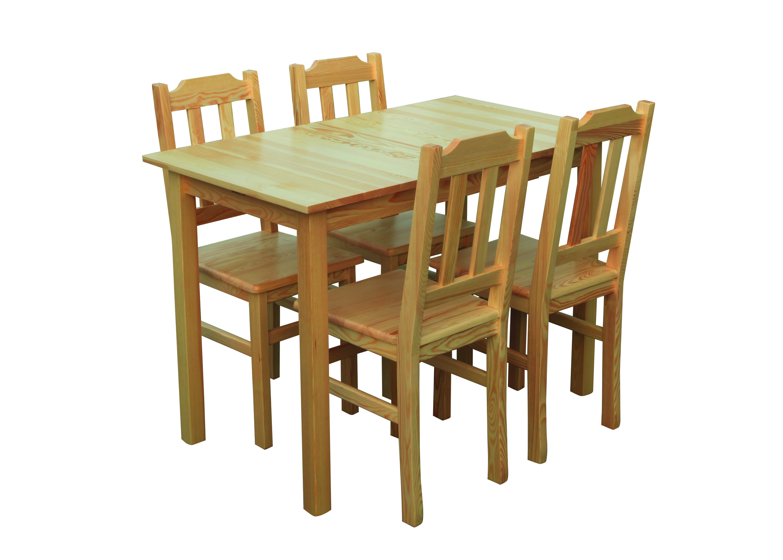 Medinis stalas Delta 100x65 | Būsto Pasaulis